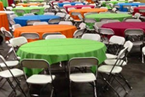 Special Event supplies & rental is our specialty.