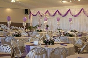 wedding rental is our specialty here at Alaska Event Services