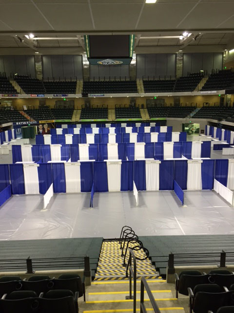 Pipe and Drape Trade Show Rental Alaska Event Services